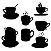Cups. — Stock Vector
