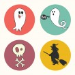 Halloween icons. — Stock Vector #53170817