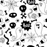 wzór Halloween — Wektor stockowy  #53171465