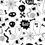 Halloween pattern. — Stock Vector #53171465