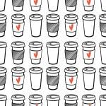 Coffee patern. — Stock Vector #53171529