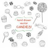Bonbons. — Stock Vector