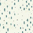 Forest doodle seamless pattern — Stock Vector #59288729