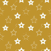Naadloze patroon met sterren — Stockvector