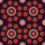 Ethnicity round ornament — Stock Vector #69609483