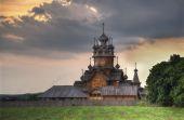 Sviatohirsk Lavra - Church, in Monastery in Donetsk region — Stockfoto