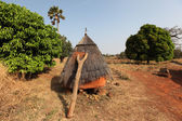 Betammaribe, granary, Benin — Stock Photo