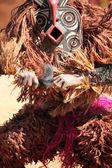 Ceremonial mask dance — Stock Photo