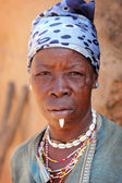 Otammari woman — Stock Photo