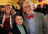 Nobel Prize winner Eric Kandel attends the film premiere — Stock Photo