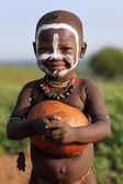 Unidentified Karo child — Stock Photo