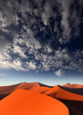 Red sand dune — Stock Photo