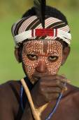 Boy of the Arbore tribe in Lower Omo Valley, Ethiopia — Photo
