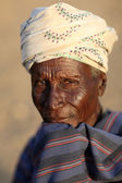 Old man of the Arbore tribe in Lower Omo Valley, Ethiopia — Stock Photo