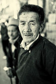 Portrait of an old man in Ladakh, India — Stock Photo