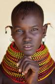 Beautiful Turkana woman — Stock Photo