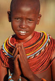 Beautiful Samburu girl — Stock Photo