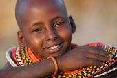 Young Samburu girl — Stock Photo