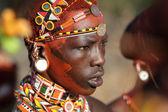 Unidentified Samburu warrior — Stok fotoğraf