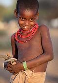 Unidentified beautiful Samburu girl — Stock Photo