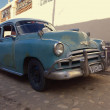 1949 Chevy in the streets of Trinidad, Cuba — Stock Photo #74810565