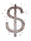 Dollar mark — Stock Photo