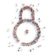 Symbol of locks. — Stock Photo
