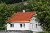 Norwegian house for shelter. — Stock Photo