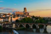 Cityscape of Albi in France — Stock Photo
