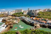 Biarritz - Church and arbor — Stock fotografie