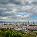 La Part Dieu building and view of Lyon city, Lyon, France — Stock Photo #58215951