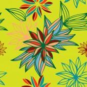 Floral seamless pattern. Vector — Stockvektor