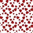 Seamless pattern hearts. Happy Valentines Day. Vector — Stock Vector #63801573