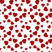 Seamless pattern hearts. Happy Valentines Day. Vector  — Stock Vector
