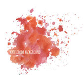 Watercolor background with splashes. Vector — Stock Vector
