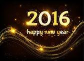 Frohes neues Jahr 2016. — Stockvektor