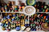 Сувениры из керамики. — Стоковое фото