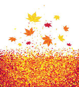 Autumn leaves — Vettoriale Stock