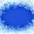 Vector frost frame — Stock Vector #54614471