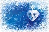 Snow queen — Vetorial Stock
