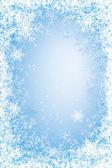 Frost frame — Stock Vector