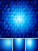 Abstract background with hexagons — Stock Vector