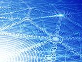 Computer network — Stock Vector