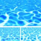 Pool Water — Stock Vector