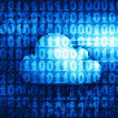 Двойное облако — Cтоковый вектор
