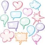 Speech bubbles — Stock Vector #56020401