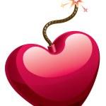 Love bomb — Stock Vector #56284611