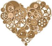 Corazón del vector — Vector de stock