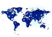 Global communication — Stock Vector