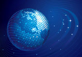 Disco globe — Stock Vector